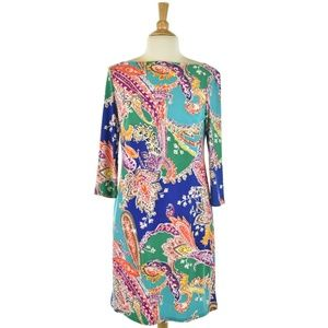 Lauren Ralph Lauren Multicolor Paisley Dress